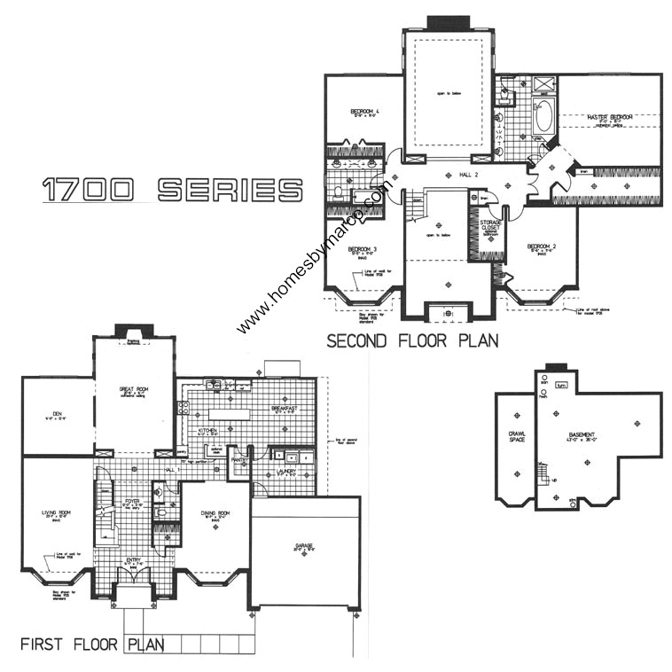 1708 english manor model in the gurnee glen subdivision in Manor house floor plan