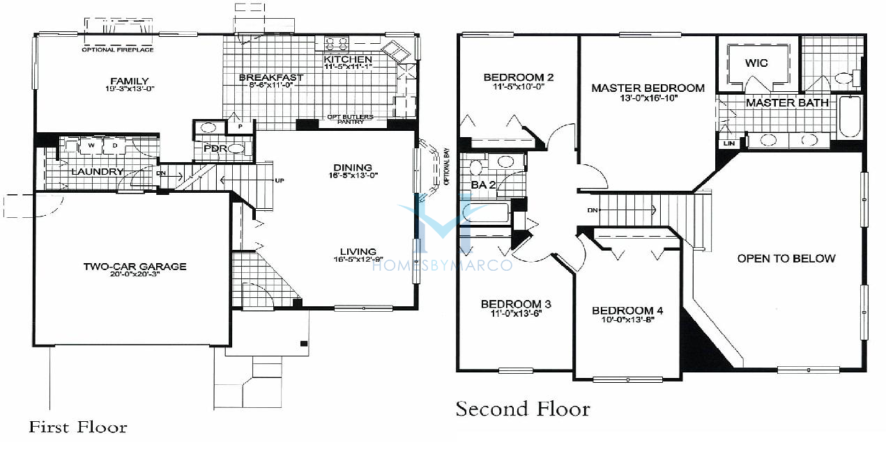 Round Homes Floor Plans: 311 Model In The Madrona Village Subdivision In Round Lake
