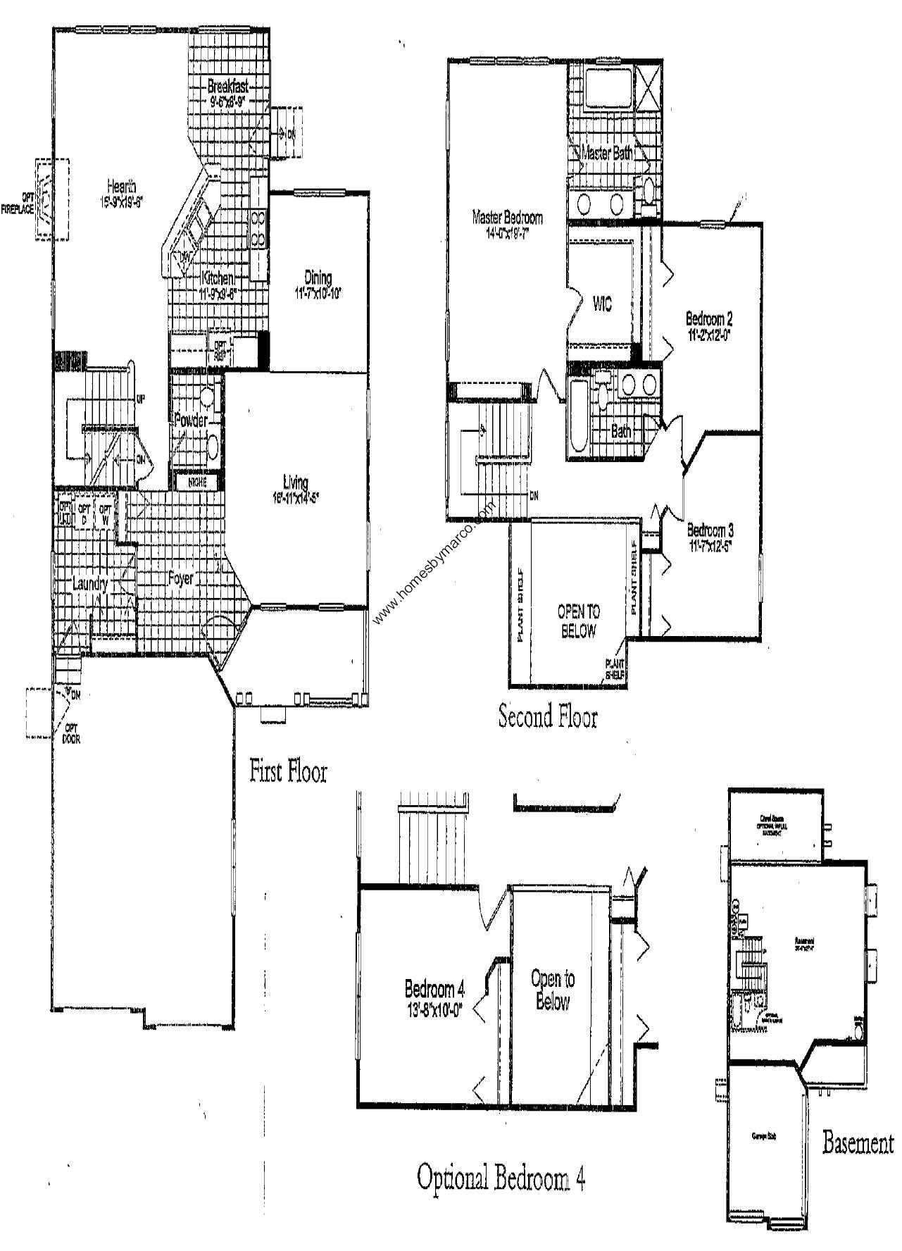 501 model in the courts of indian creek subdivision in for 501 plan