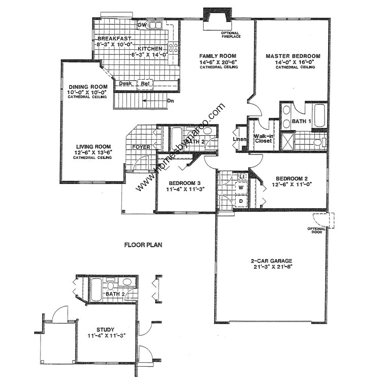 Abbey house model in the estates of eastlake subdivision for Eastlake house plan
