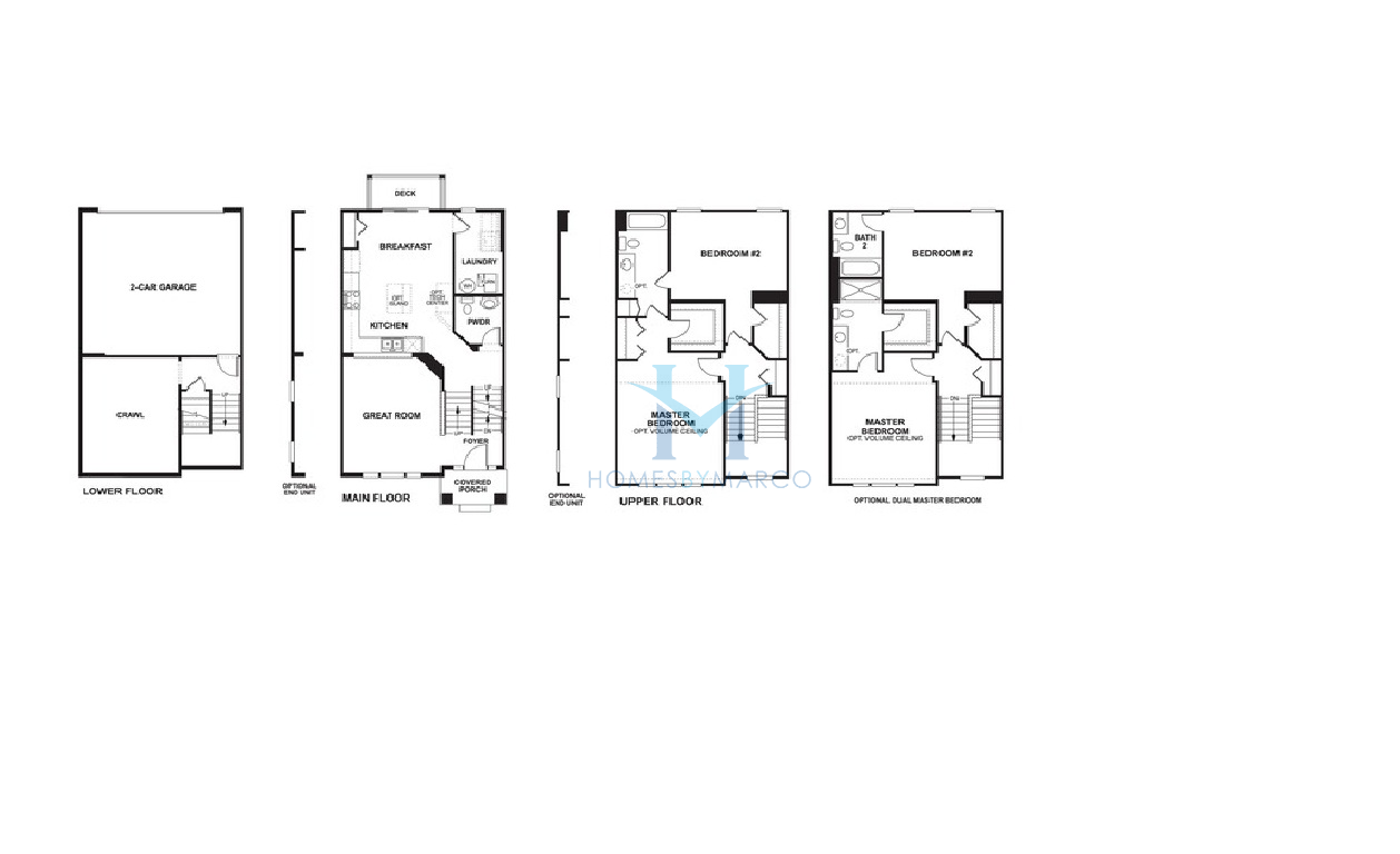 Addison model in the sheffield square subdivision in for Sheffield floor plan