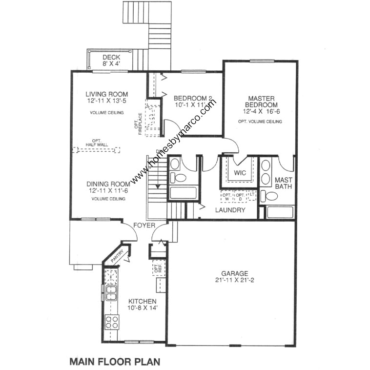 Antiqua model in the woodland green subdivision in fox for Lucky 4 ranch floor plan
