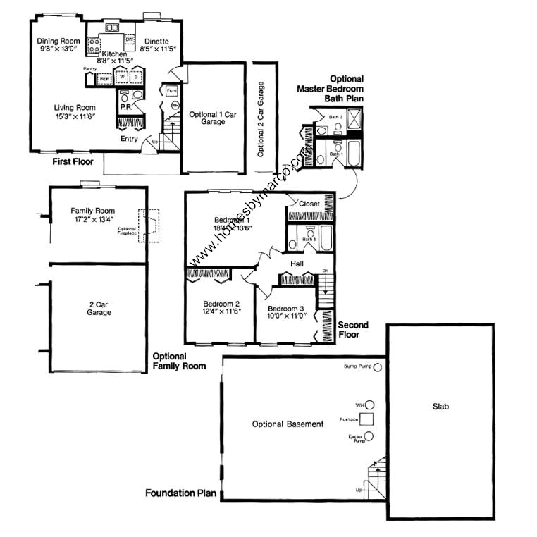 Arbor Homes Floor Plans: Arbor Model In The Woodgate Subdivision In Matteson