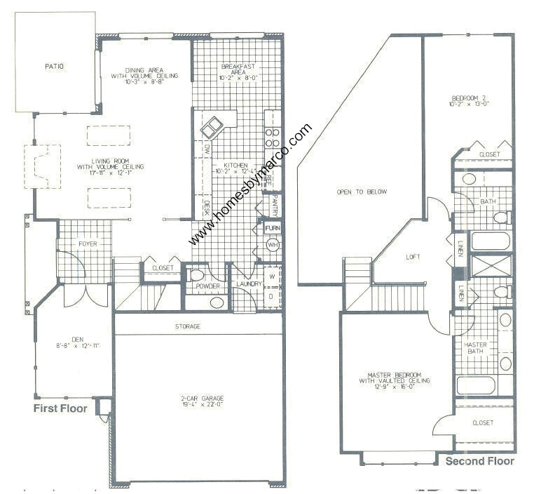 Ashton model in the towne place subdivision in schaumburg Place builders floor plans