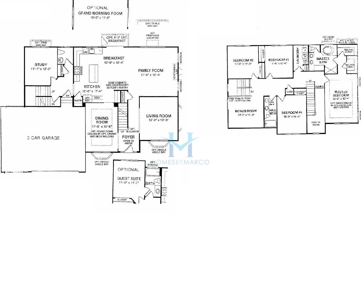 Aspen model in the cheswick place subdivision in lake in Place builders floor plans