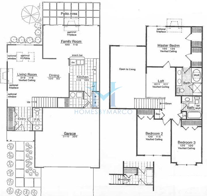 Auburn model in the bentley place subdivision in buffalo Place builders floor plans