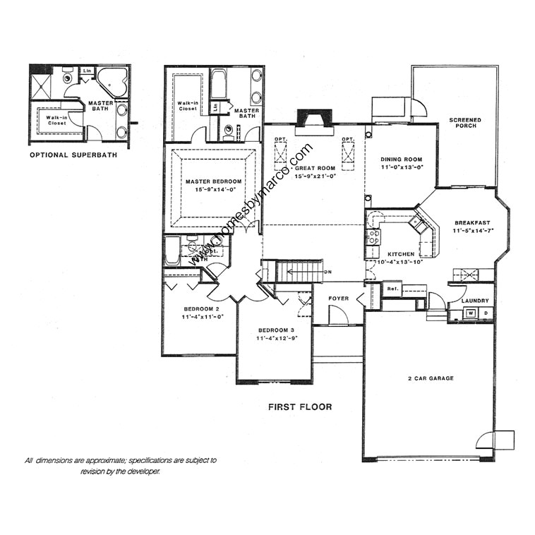 Augusta model in the woods of antioch subdivision in for Builders plan service augusta ga