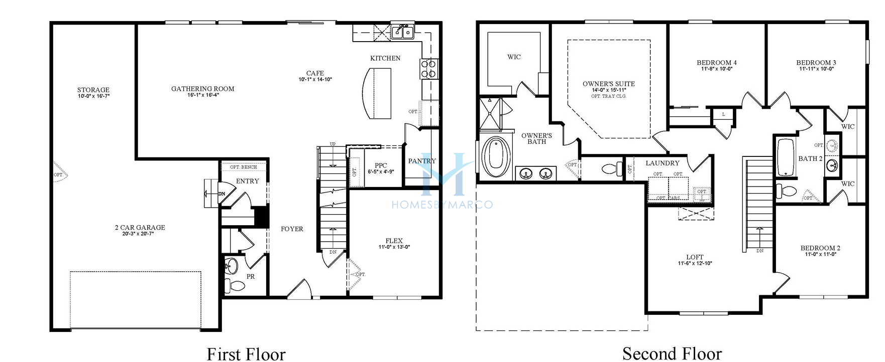 Baldwin model in the hawthorn hills subdivision in for Baldwin floor plan
