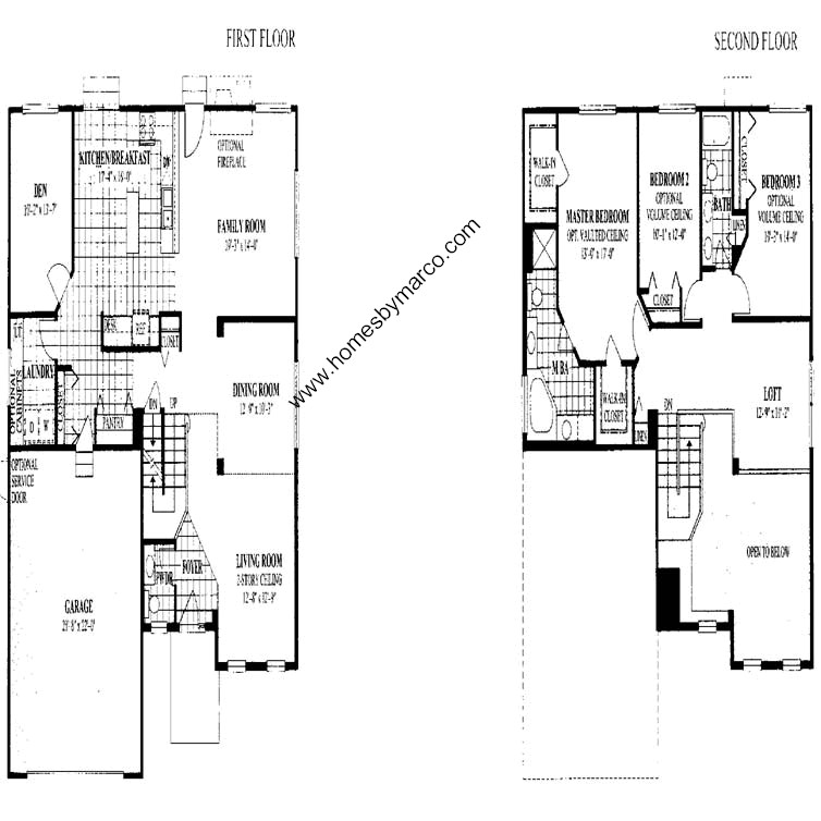 Baldwin model in the links of english meadows subdivision for Baldwin floor plan