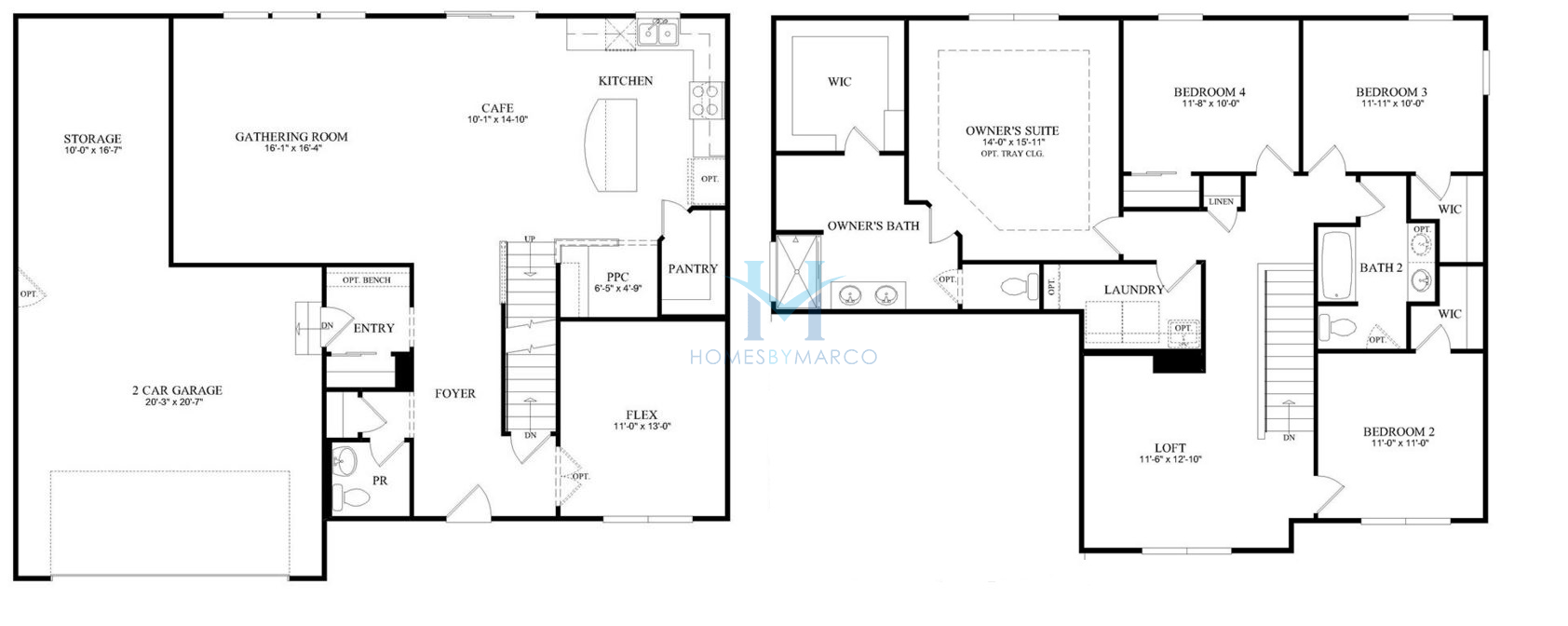 Baldwin model in the winchester glen subdivision in for Baldwin floor plan
