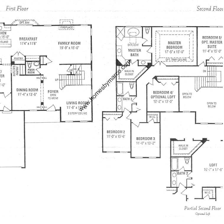 Barclay Model In The Sedgwick Place Subdivision In Gurnee: place builders floor plans