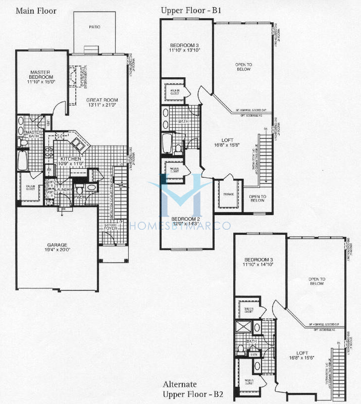 Bayberry model in the Deerbrook Place subdivision in Aurora ...