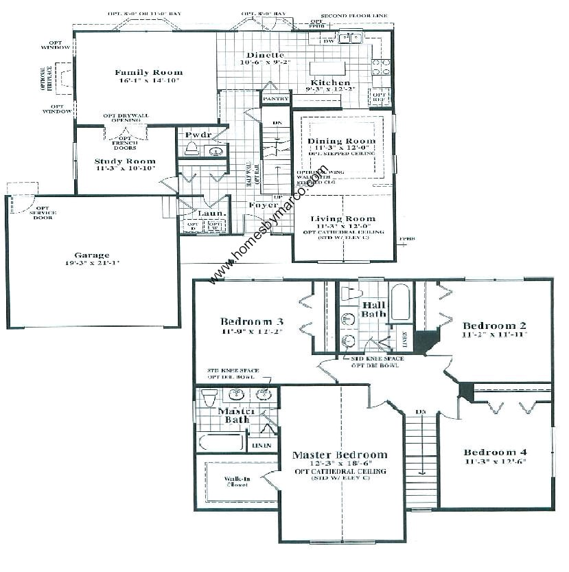 Bayview Model In The Valley Lakes Subdivision In Round