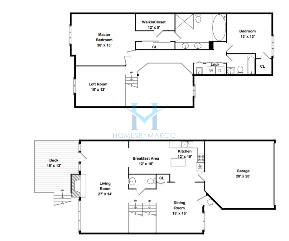 Biltmore model in the sutton park place subdivision in for Park place floor plans