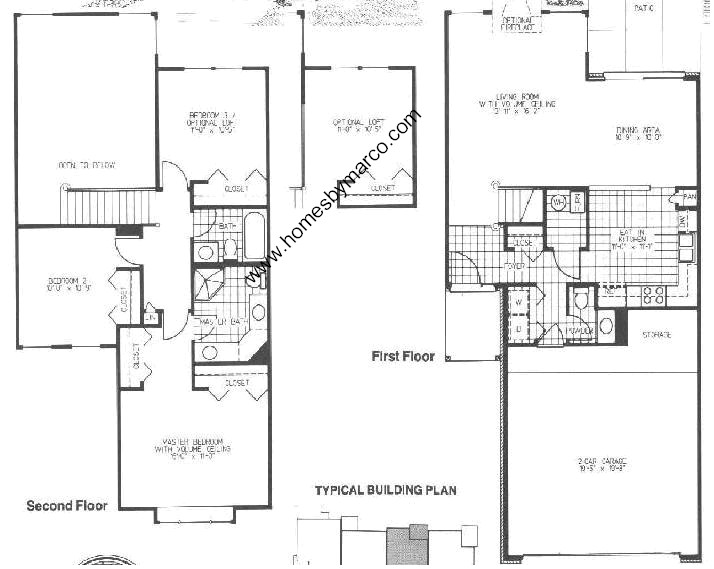 Homes By Marco Floor Plans: Bradford Model In The Maple Hill Subdivision In