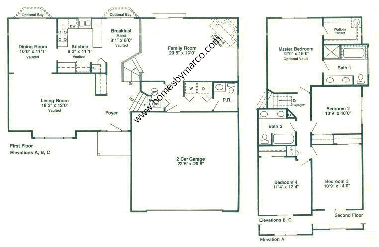 Brentwood Model In The Walnut Hills Subdivision In