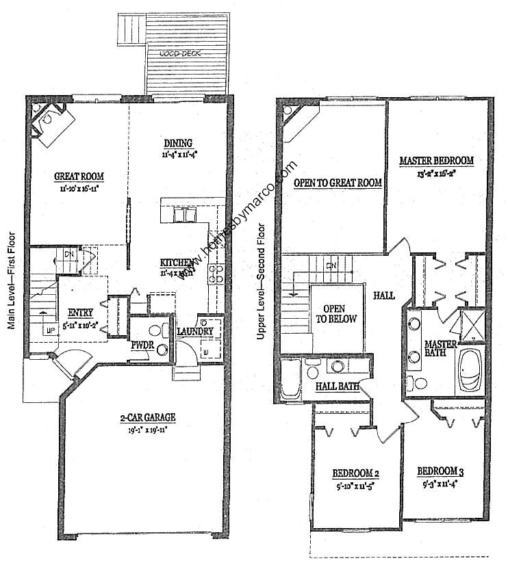 Brentwood Model In The Presidents Manor Townhomes