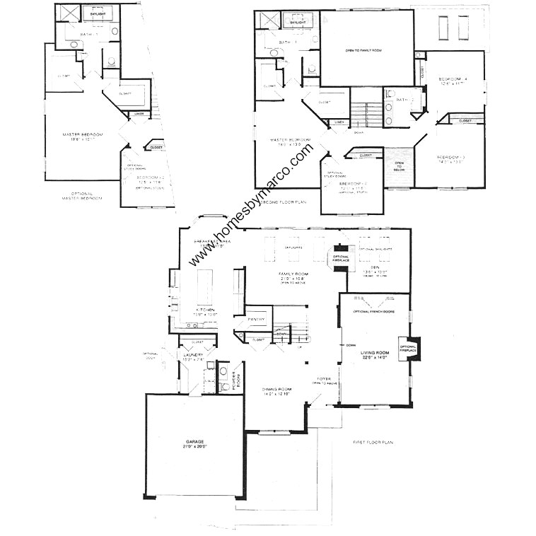 Brentwood model in the carlyle subdivision in buffalo for Brentwood floor plan