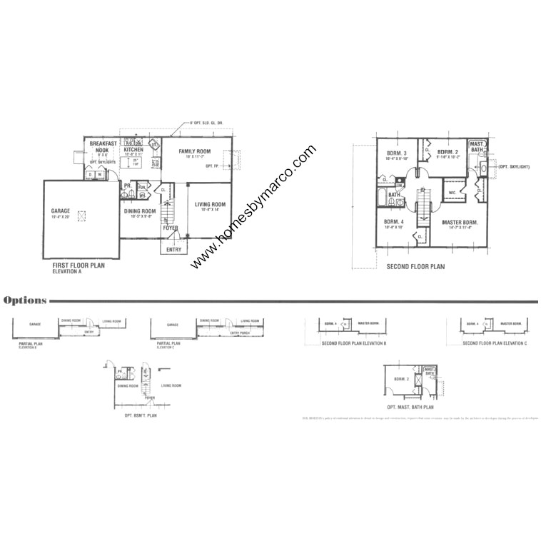 Brentwood model in the victoria meadows subdivision in for Brentwood floor plan