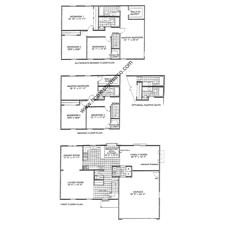 Brentwood Model In The Woodland Meadows Subdivision In