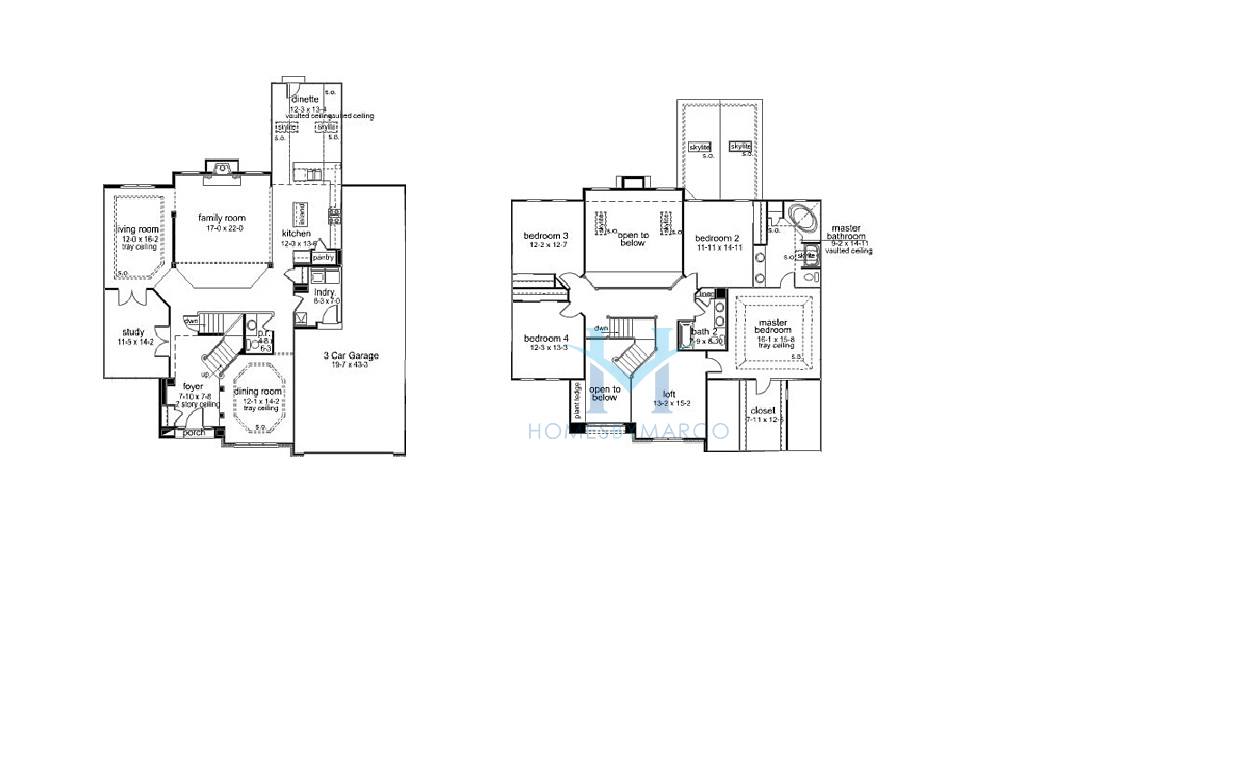 Kimball Hill Homes Rosewood Floor Plan