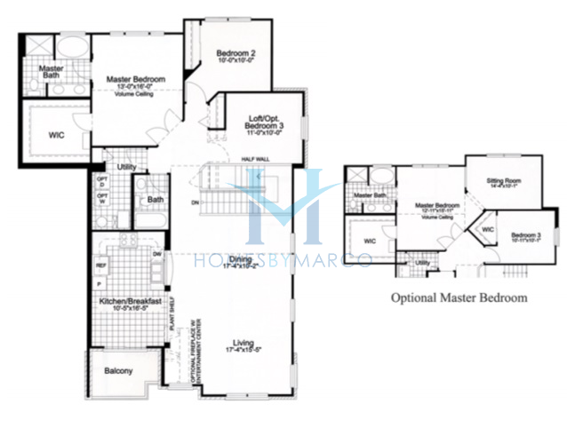 Briarwood model in the south commons subdivision in for Briarwood homes floor plans