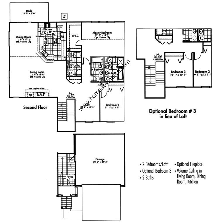 Canterbury model in the canterbury place subdivision in Canterbury floor plan
