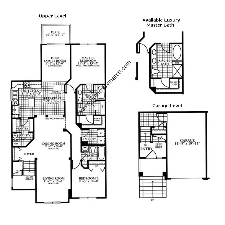 Canterbury model in the cambridge countryside subdivision Canterbury floor plan