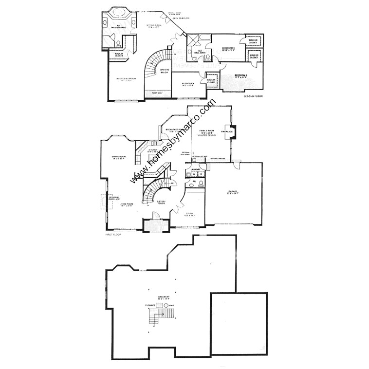 Canterbury model in the canterbury fields subdivision in Canterbury floor plan