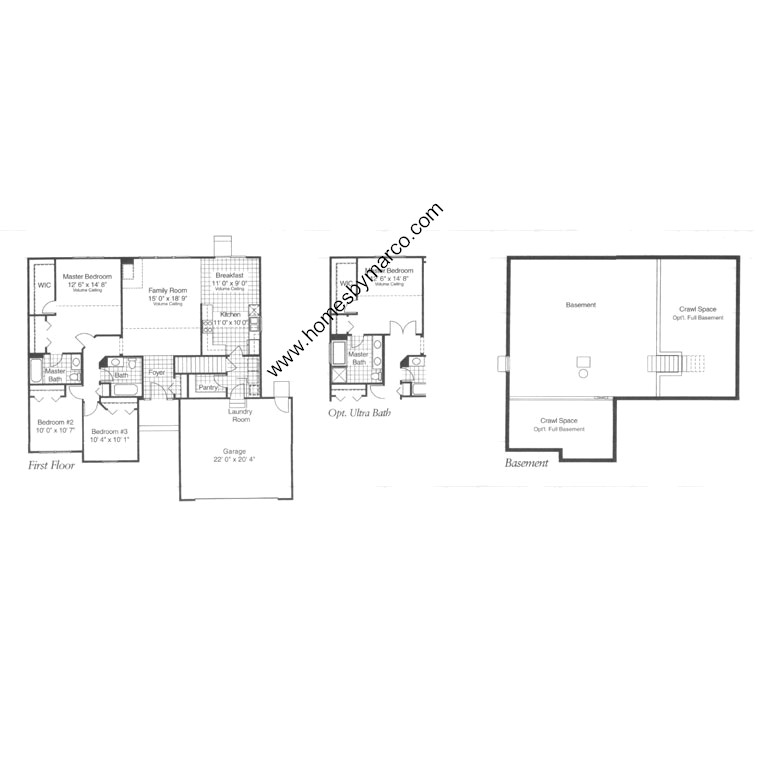 Carlton model in the algonquin lakes subdivision in for Lucky 4 ranch floor plan