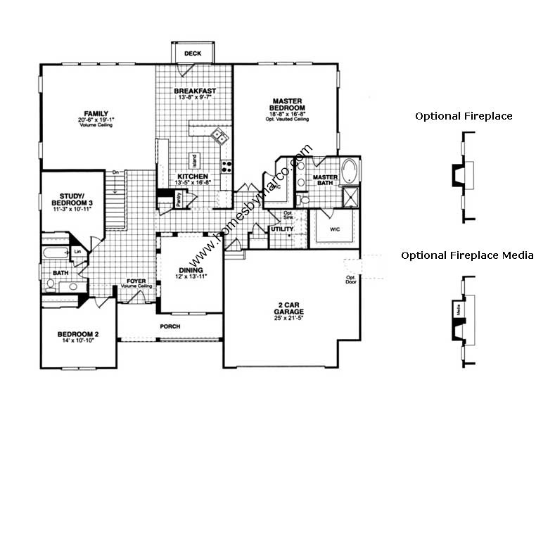carrington model in the lancaster falls subdivision in carrington house plan house plans by garrell associates