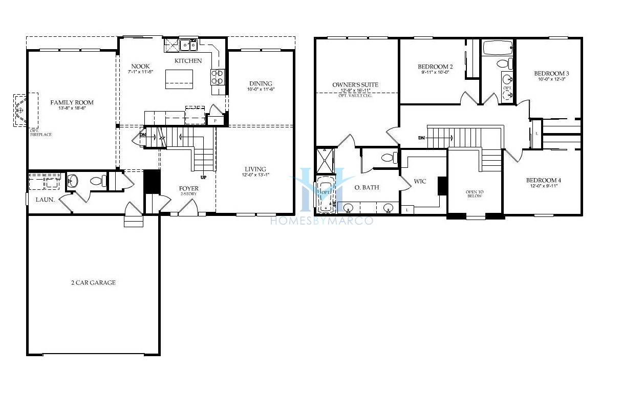 Carrington Floor Plan Carrington Floorplan 1542 Sq Ft