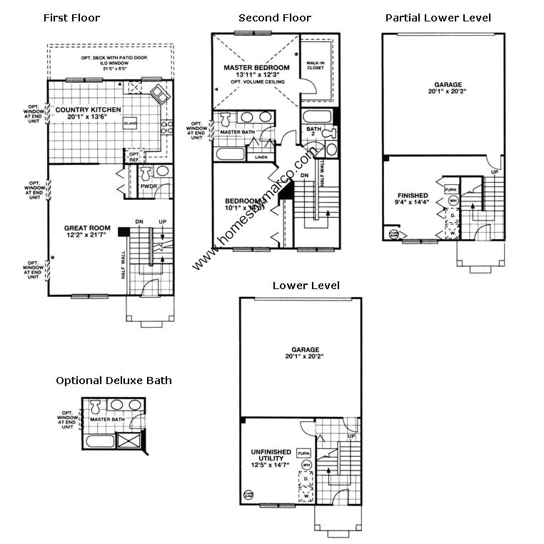 Castlebrook Apartments: Castlebrook Model In The Heron Bay Subdivision In Round