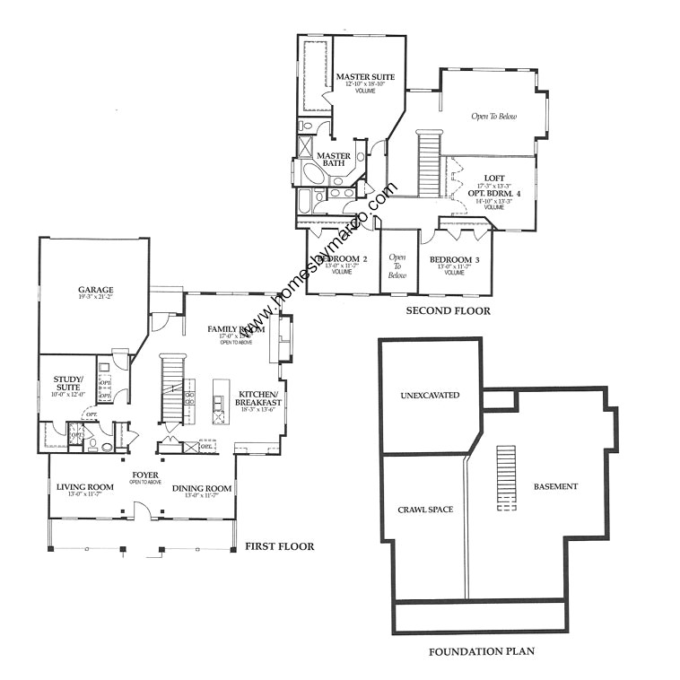 Chadwick model in the the glen subdivision in glenview for Chadwick house plan