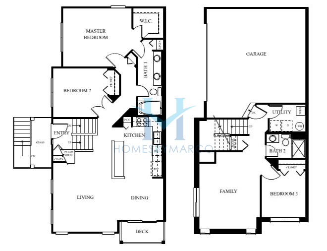 Charleston model in the symphony meadows subdivision in for Charleston floor plan