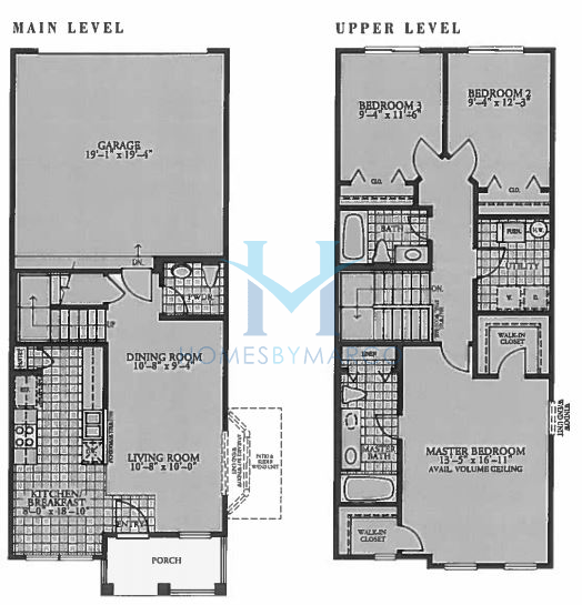 Cheyenne model in the holiday park subdivision in fox lake for Holiday home builders floor plans