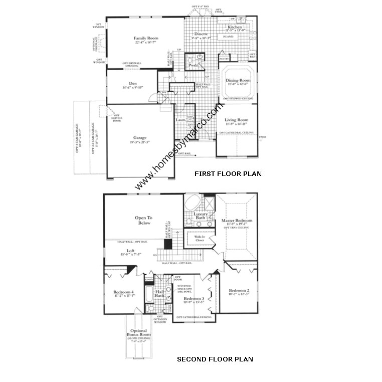Floor Plan  Bed  Bath  Car Illinois Ct