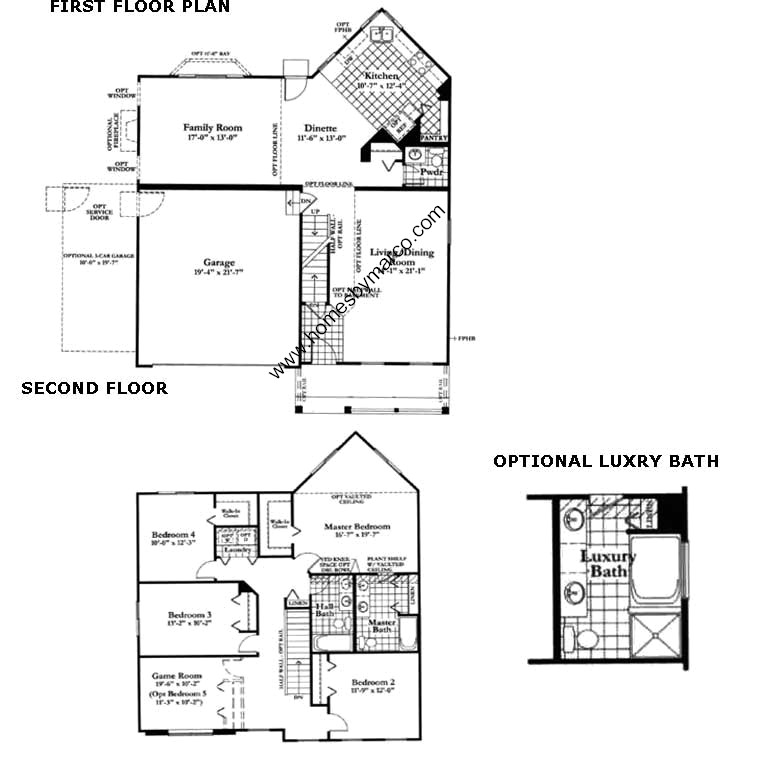 Coventry model in the neuhaven subdivision in antioch for Coventry homes floor plans