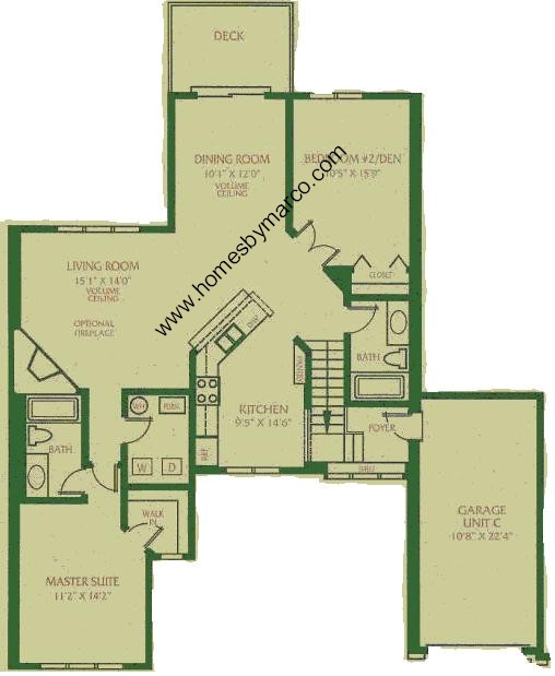 Coventry model in the briar pointe subdivision in for Coventry homes floor plans