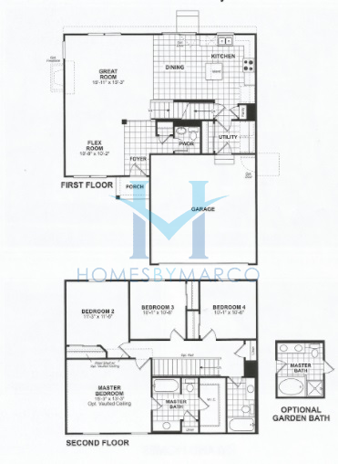 Coventry model in the gilberts town center subdivision in for Coventry homes floor plans