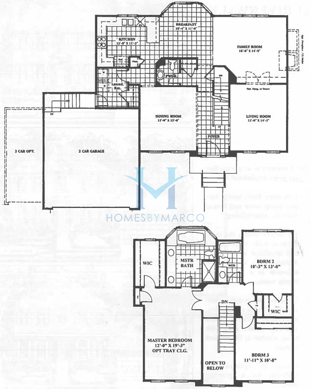 Coventry model in the riverwalk subdivision in port for Coventry homes floor plans
