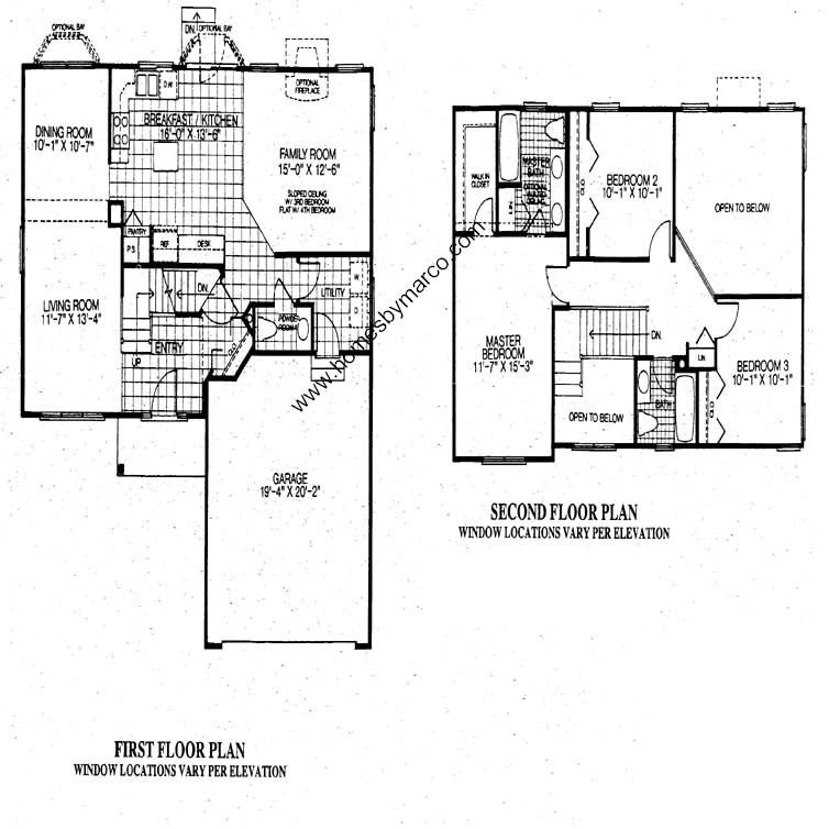 Covington floor plan covington model in the cambridge for House plans covington la