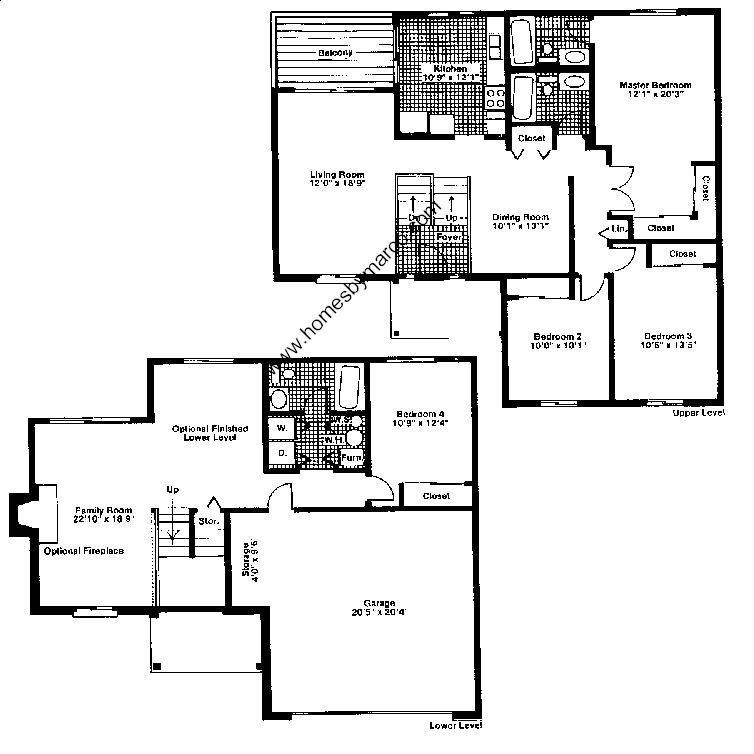 Cypress model in the deerpath subdivision in vernon hills for Lucky 4 ranch floor plan