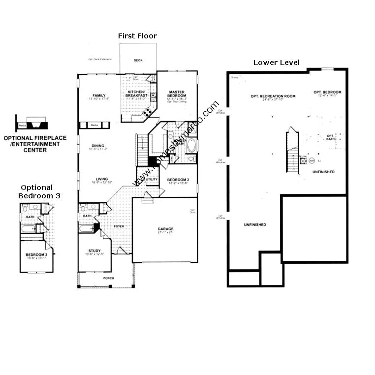 Old Ryland Homes Floor Plans