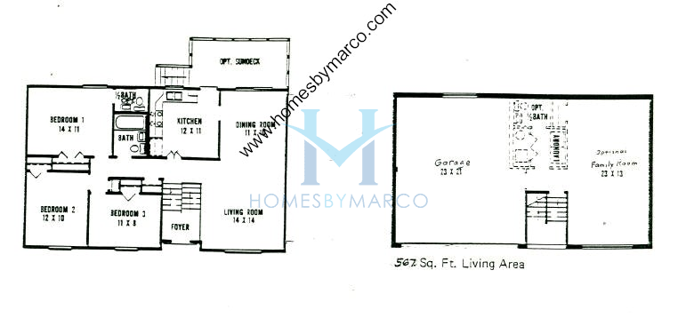 Dartmouth model in the deershire estates subdivision in for Dartmouth floor plans