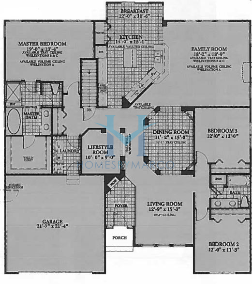 Dartmouth model in the the shires subdivision in lake for Dartmouth floor plans