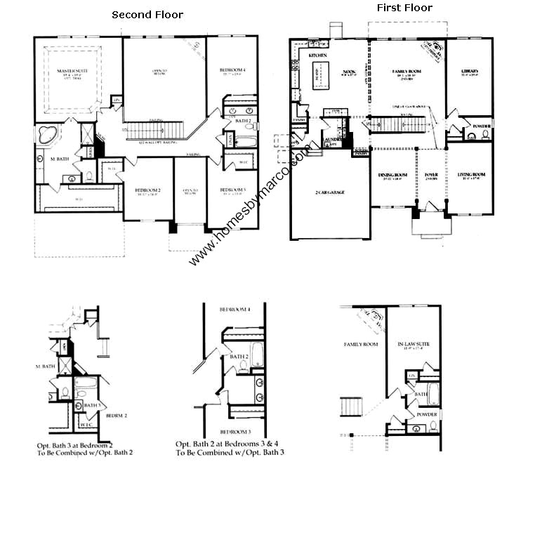 Devonshire model in the hampton reserve subdivision in for Devonshire floor plan