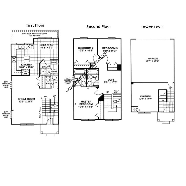 Devonshire model in the heron bay subdivision in round for Devonshire floor plan