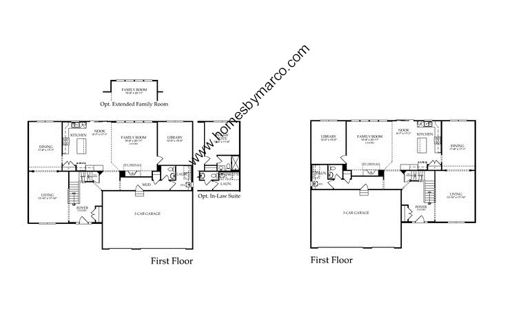 Devonshire model in the prescott mill subdivision in for Devonshire floor plan