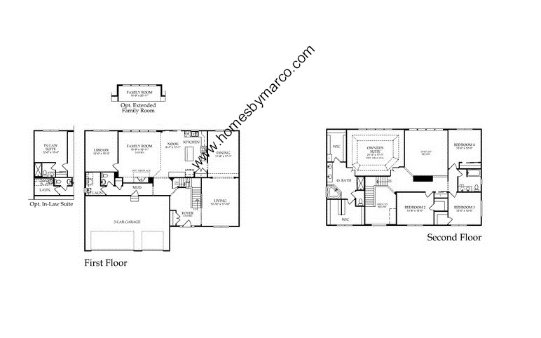 Devonshire model in the winchester glen subdivision in for Devonshire floor plan